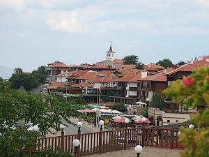 Nesebar ciudad Bulgaria en la costa del mar Negro