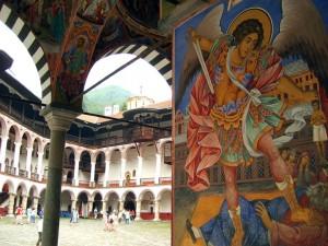 El monasterio de Rila Bulgaria