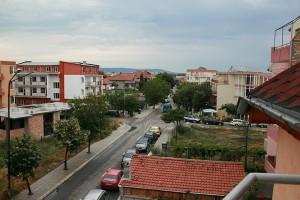Nesebar ciudad Bulgaria en costa del mar Negro